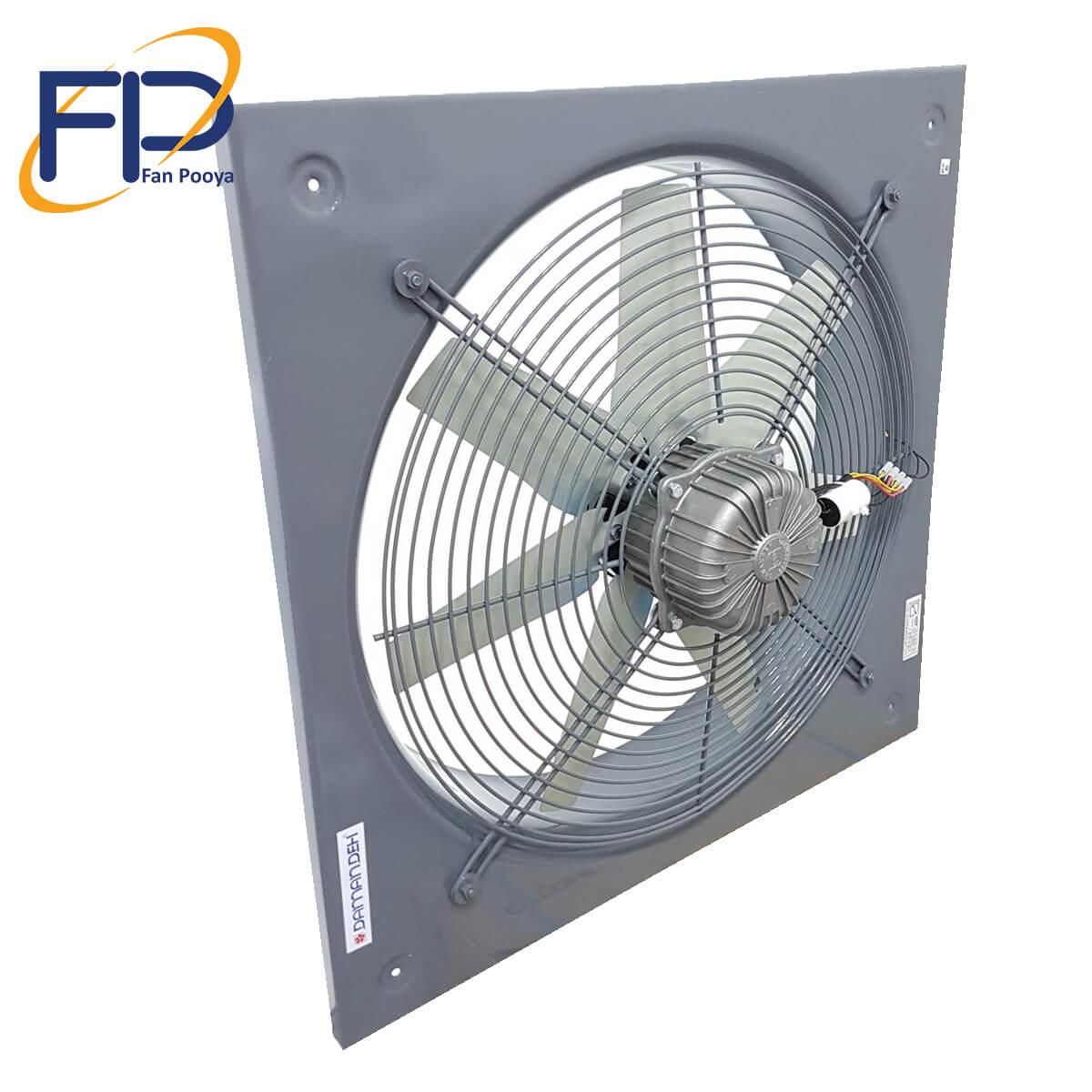 هواکش صنعتی سبک فلزی / VID-60D4S
