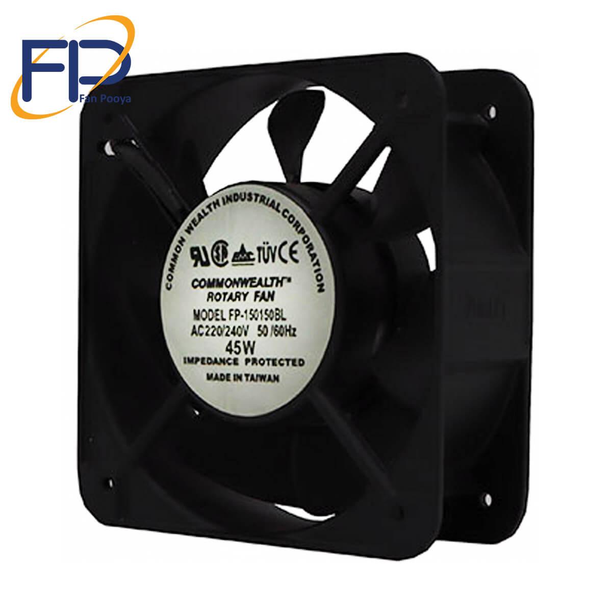 فن کامپیوتری15*15-(COMONWEALTH)-مدل FP150*150BL