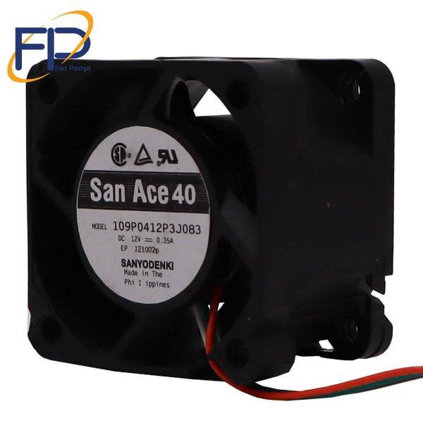 فن کامپیوتری 4*4 San Ace 40مدل109P0412P3J083