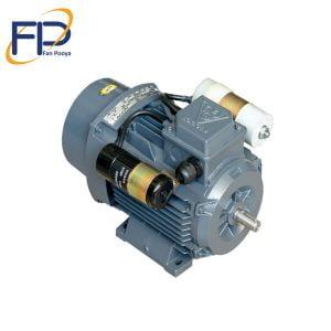 الکتروموتورموتوژن تک فازخازن استارت(CRS)تک دورقدرت۰٫۳۷kwکیلو وات ۱۵۰۰دور